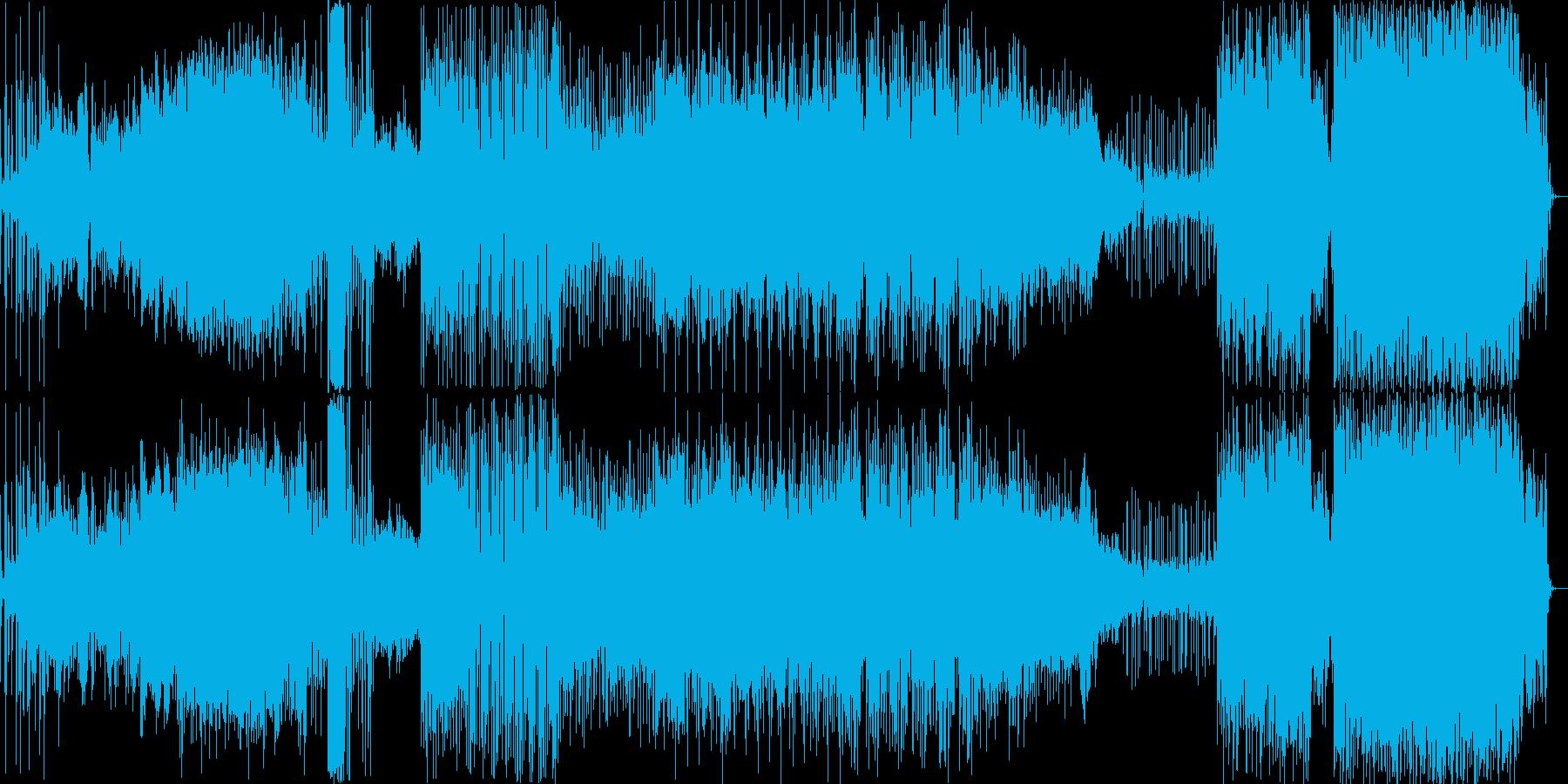 エレクトロ 技術的な 説明的 ハイ...の再生済みの波形
