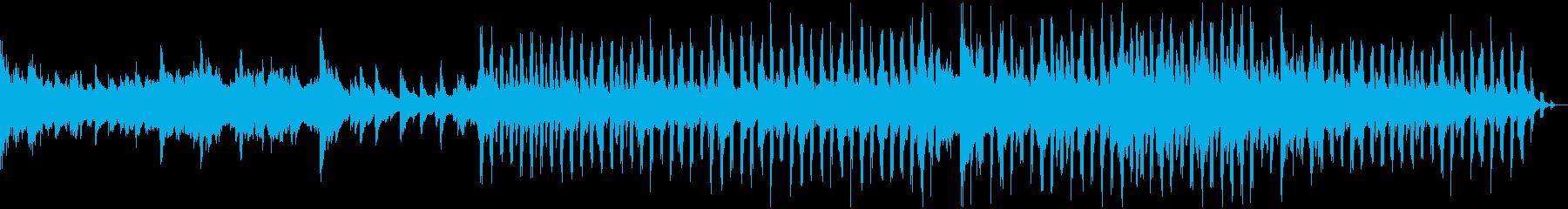 各種映像に感動的なピアノで壮大なポップスの再生済みの波形