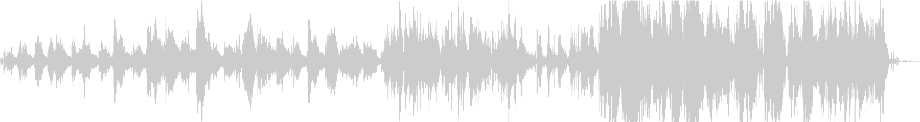 チェロとサクソフォンとベースの鳥と...の未再生の波形