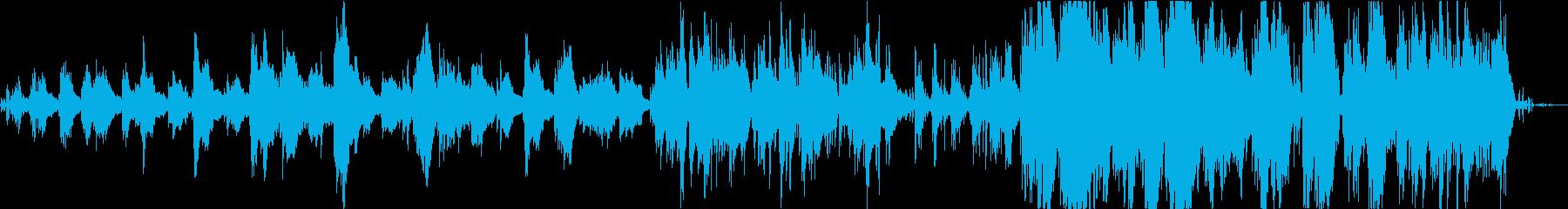 チェロとサクソフォンとベースの鳥と...の再生済みの波形