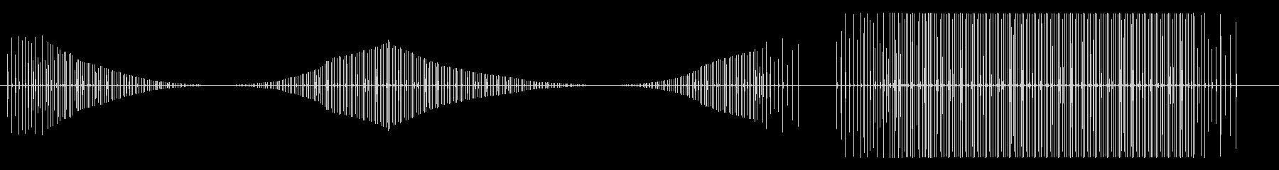 漫画-馬-ギャロップの未再生の波形