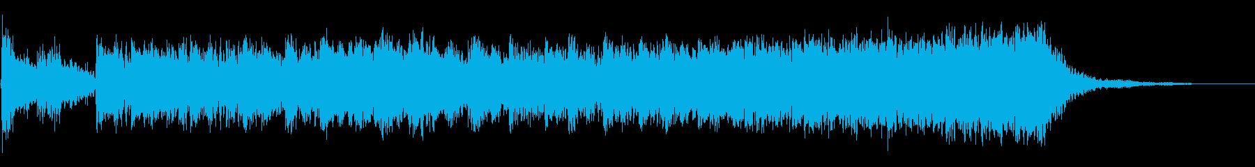 クローズパースートの再生済みの波形