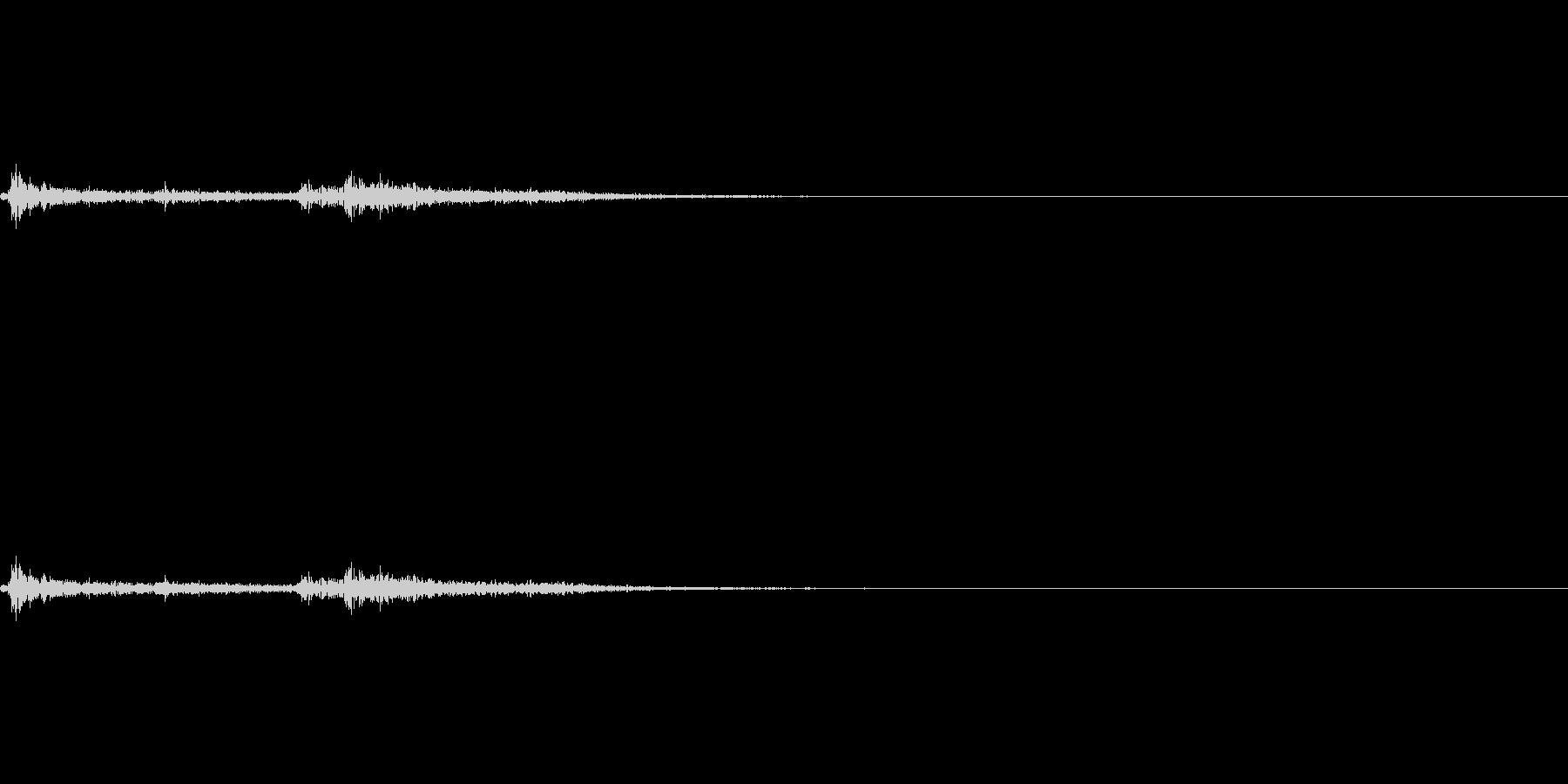 剣・構える-12の未再生の波形