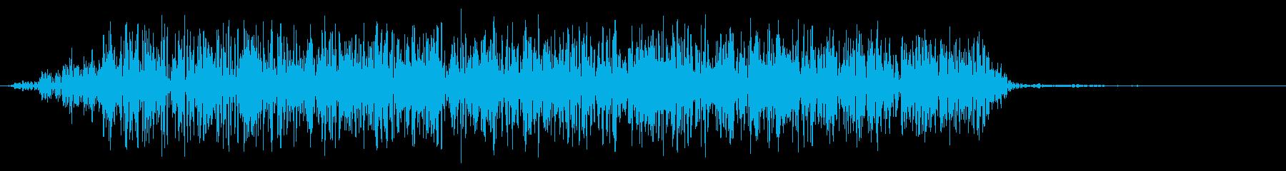 モンスター 威嚇 06の再生済みの波形