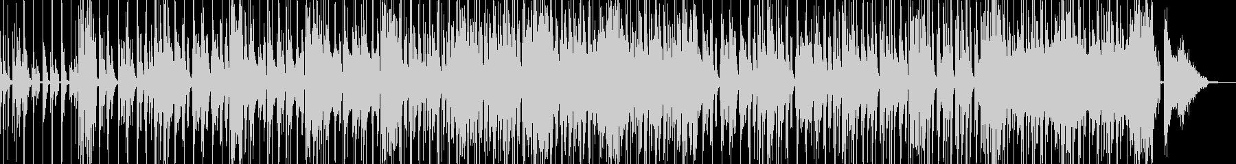 コメディに適した滑稽なBGM・低音有の未再生の波形