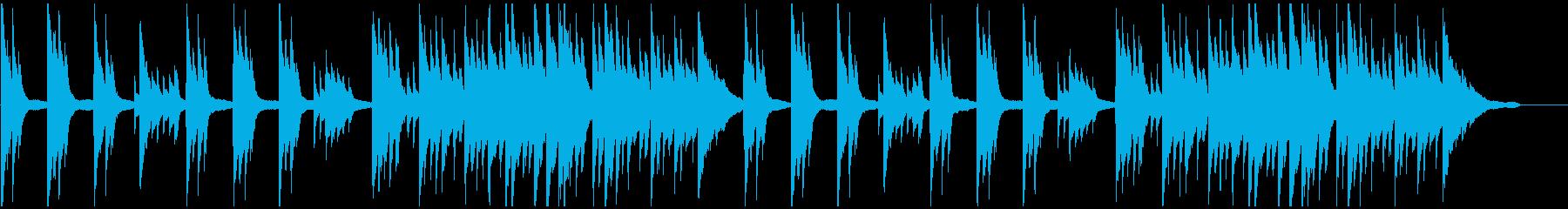 物悲しい思い出 ピアノソロバラードの再生済みの波形
