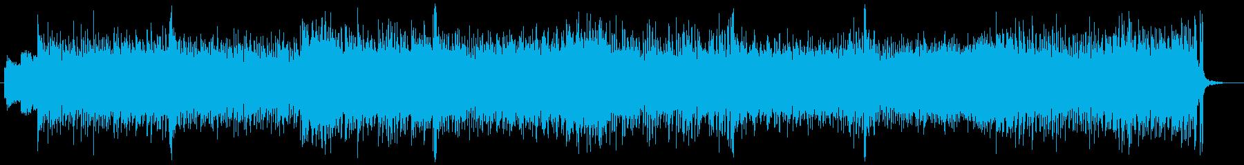 軽快なリズムが縦ノリを誘発するEDMの再生済みの波形