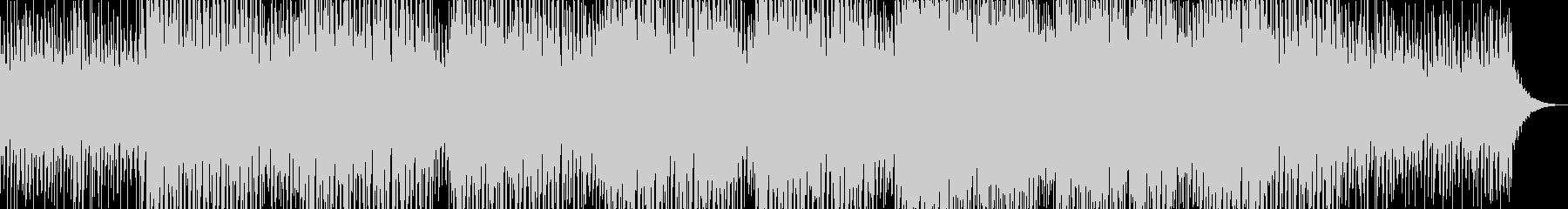 U2テイストのダンスミュージックの未再生の波形