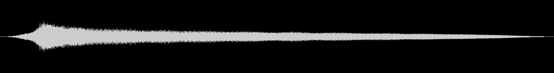 オールドライドシンボルボウCU 7の未再生の波形