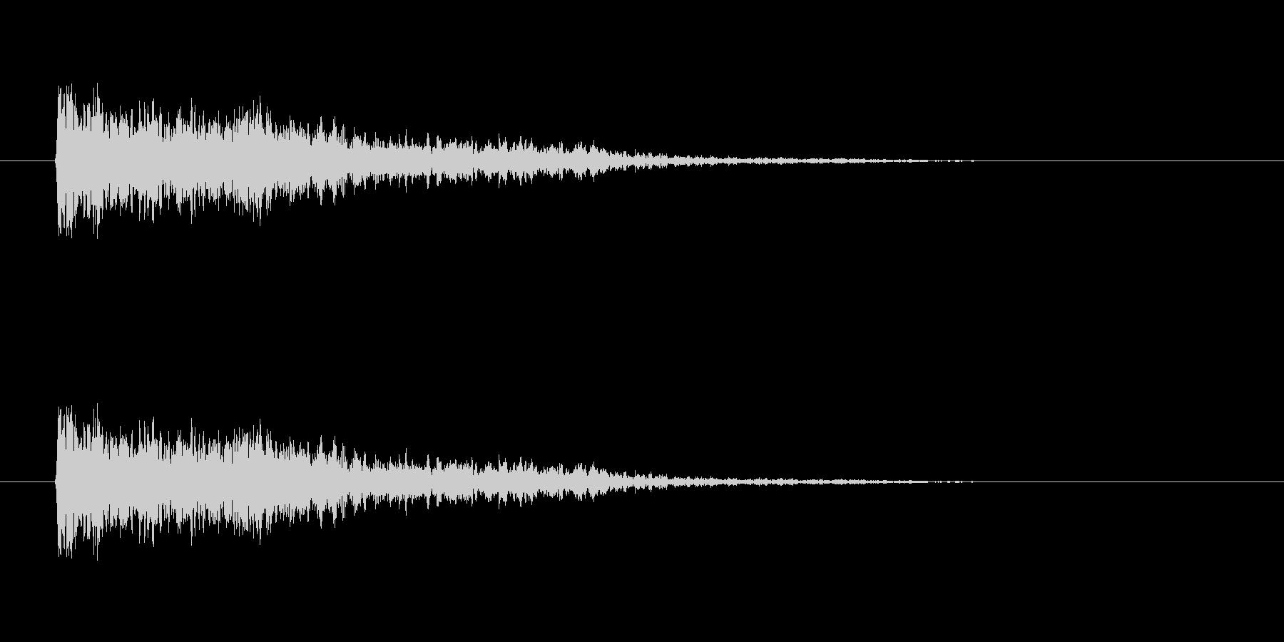【ネガティブ02-2】の未再生の波形