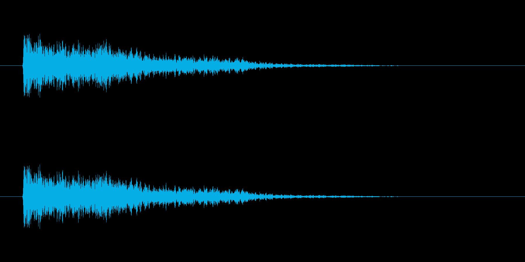 【ネガティブ02-2】の再生済みの波形