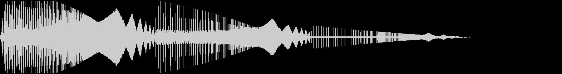ピュイピュイ(エラー/サイレン/ブザー)の未再生の波形