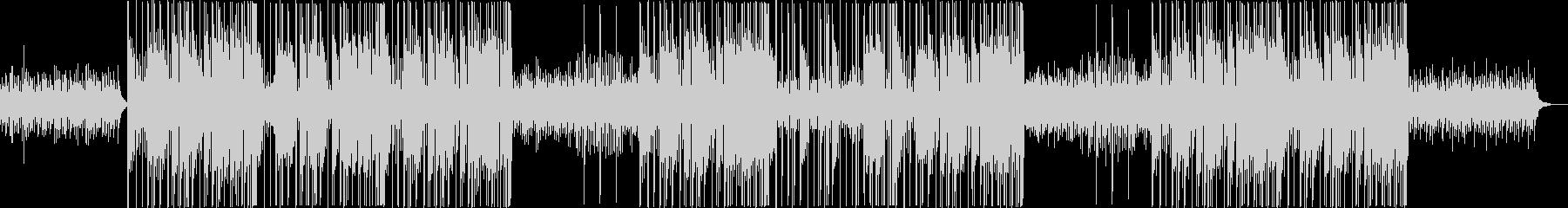 浮遊感のあるシンセ音が特徴のトラップの未再生の波形