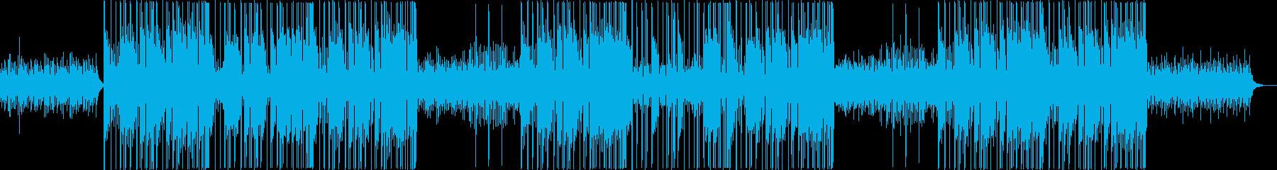 浮遊感のあるシンセ音が特徴のトラップの再生済みの波形