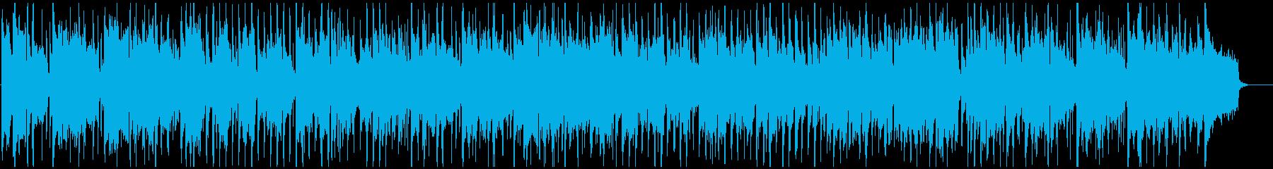 クラブジャズ、かっこいいサックス生演奏の再生済みの波形