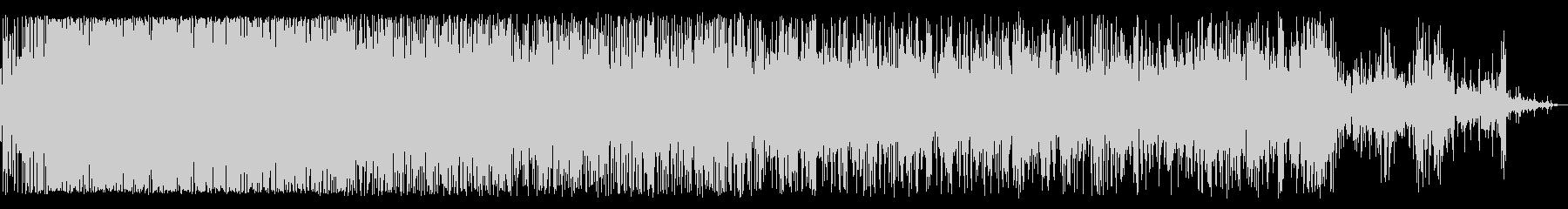 ジュジュジュジュ(鉄板で焼く様な音)の未再生の波形