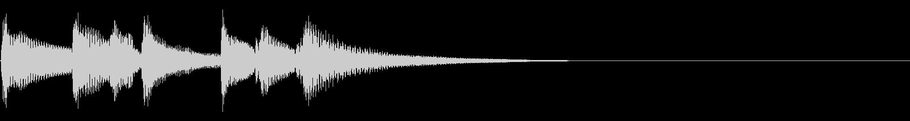 ウクレレアイキャッチ■爽やかな場面転換の未再生の波形