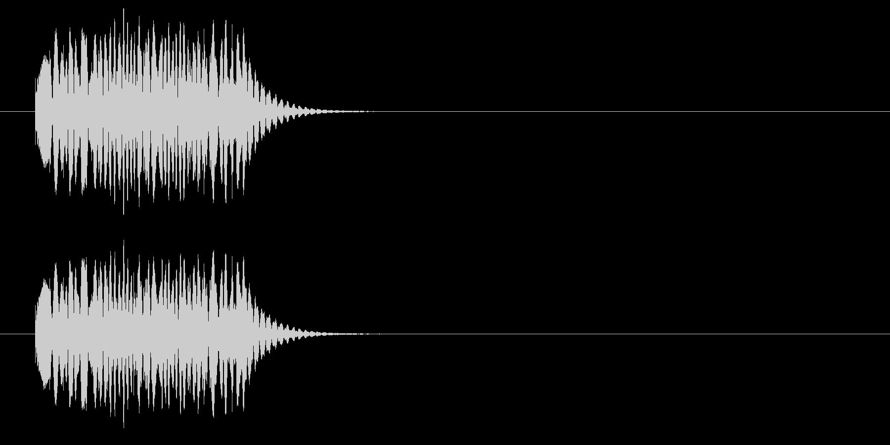 クルクル①(回転・場面転換・時間経過)の未再生の波形