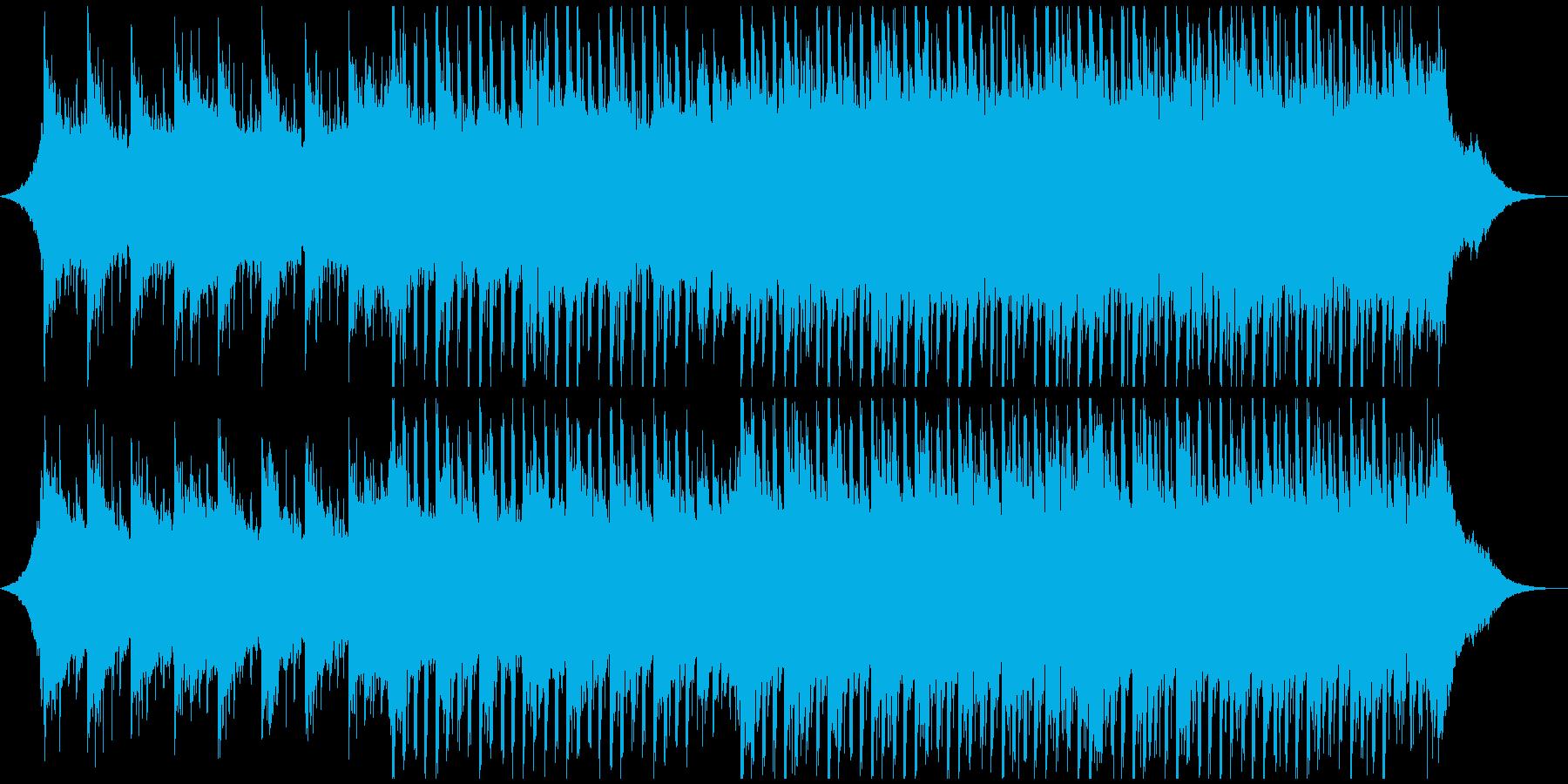 メディカル(中)の再生済みの波形