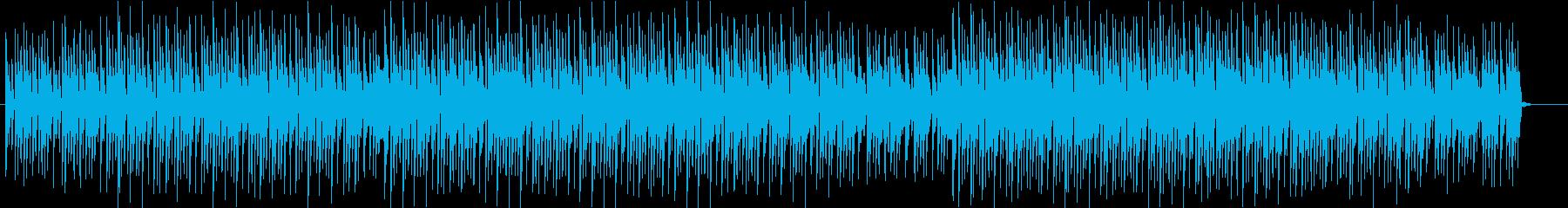 CMソングのようなダンスBGMの再生済みの波形