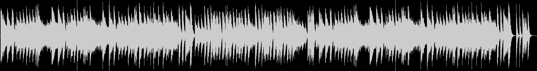 昭和歌謡の切なくて甘酸っぱいピアノBGMの未再生の波形