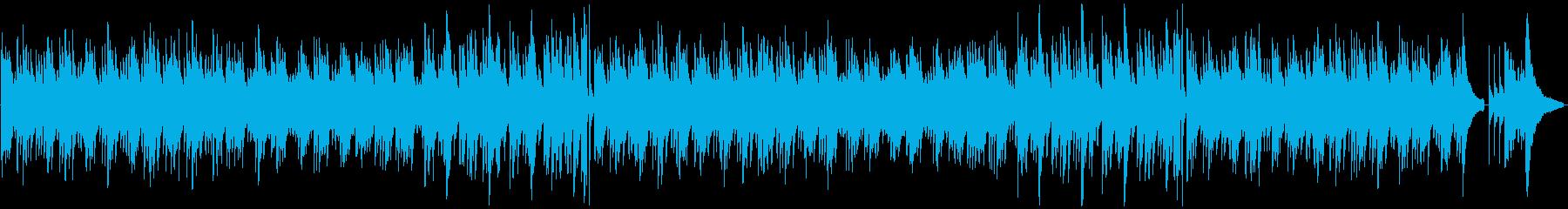 落ち着いた切ないソロアコギの再生済みの波形