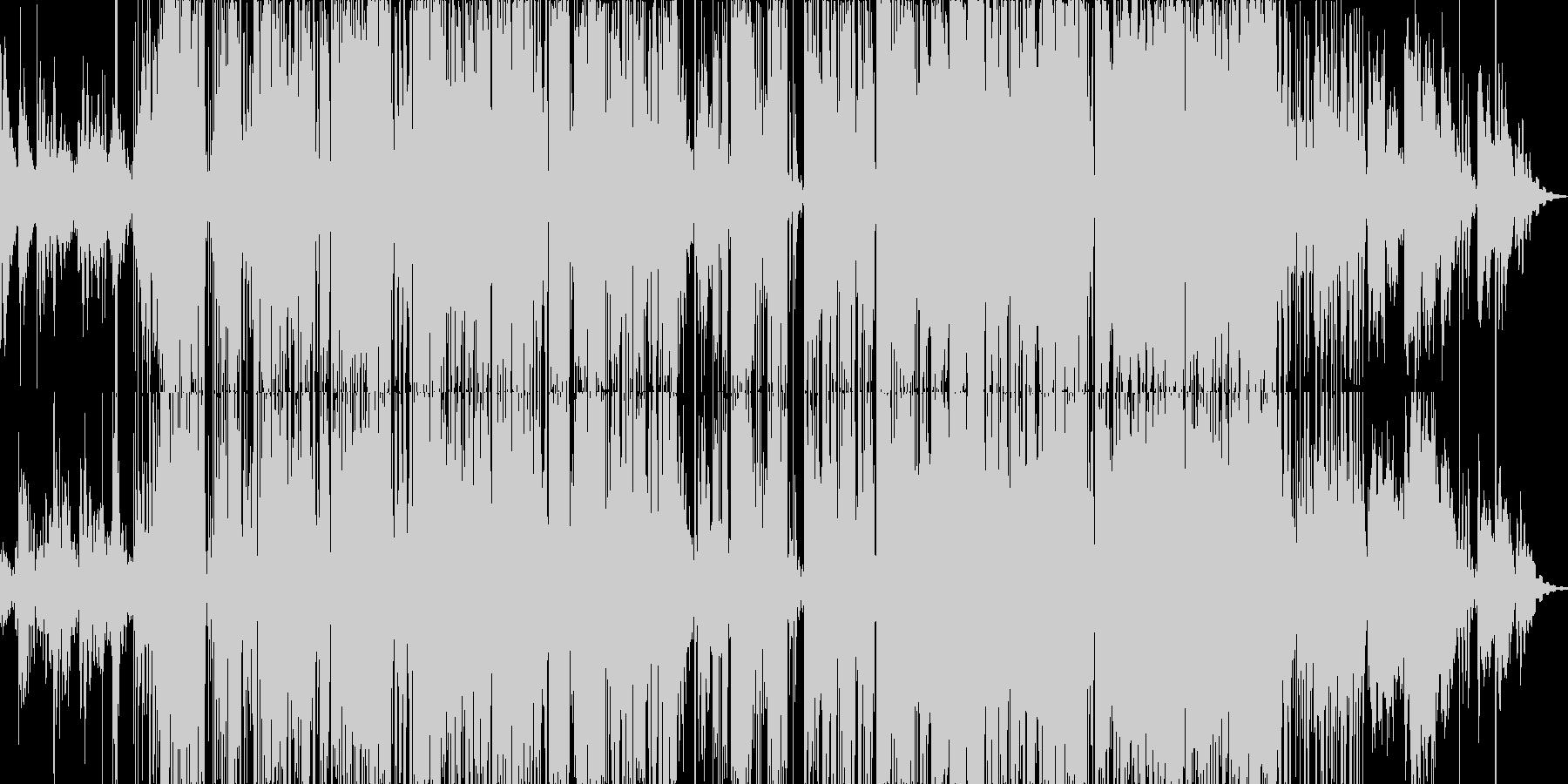 エレクトロニック 静か 楽しげ お...の未再生の波形