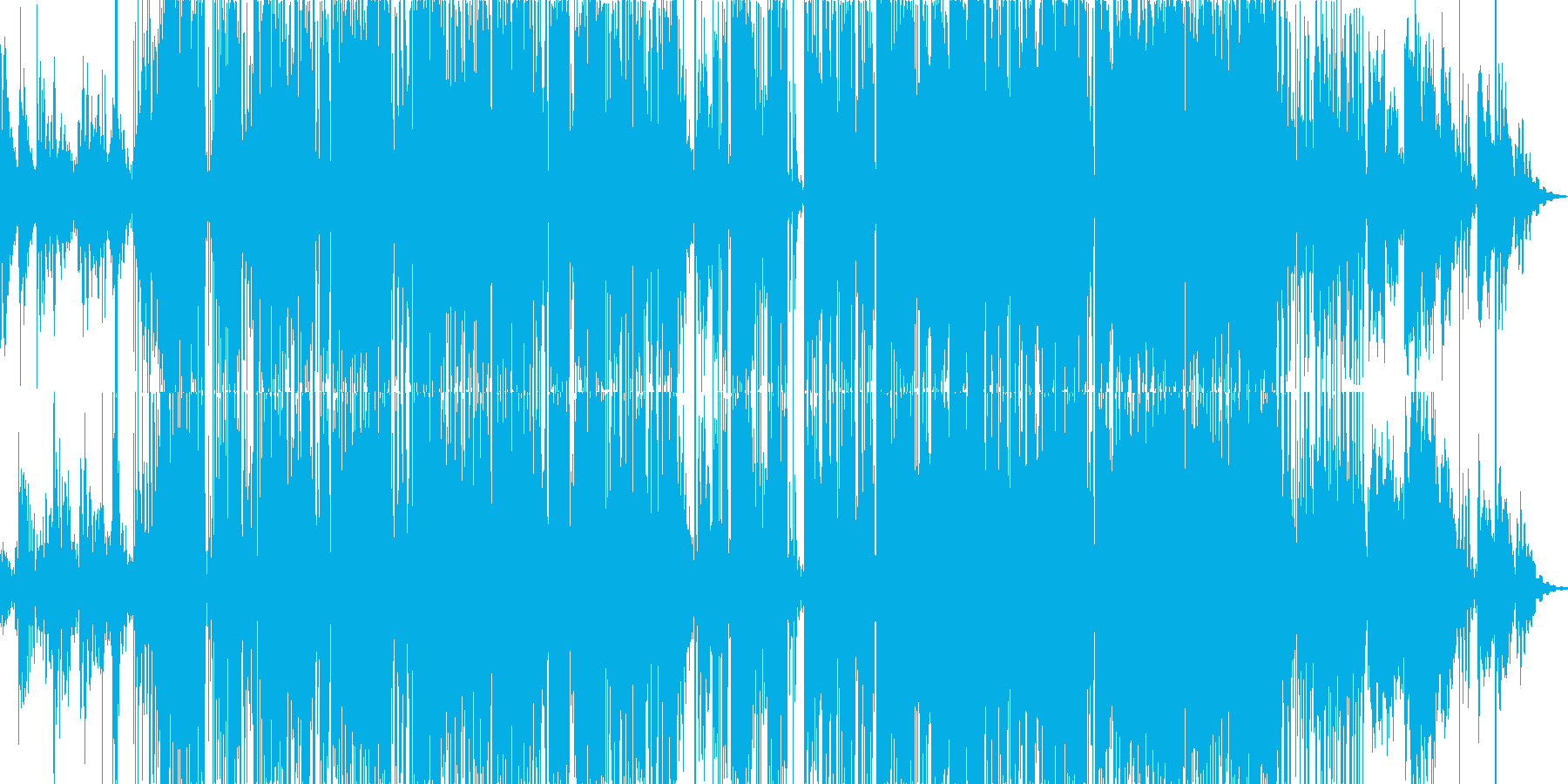 エレクトロニック 静か 楽しげ お...の再生済みの波形