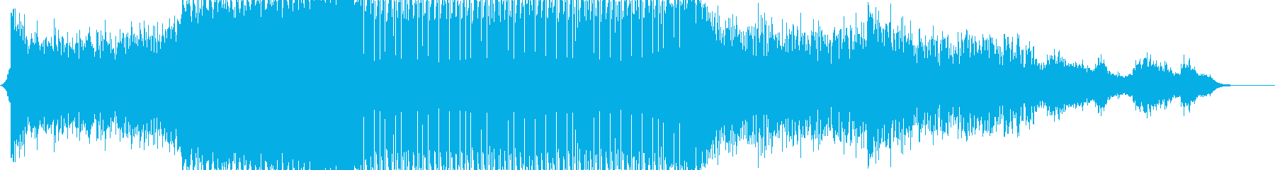 A tough EDM for video and commercials's reproduced waveform