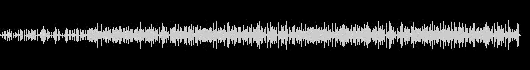 メロディにピアノやアコギを使用したサンバの未再生の波形