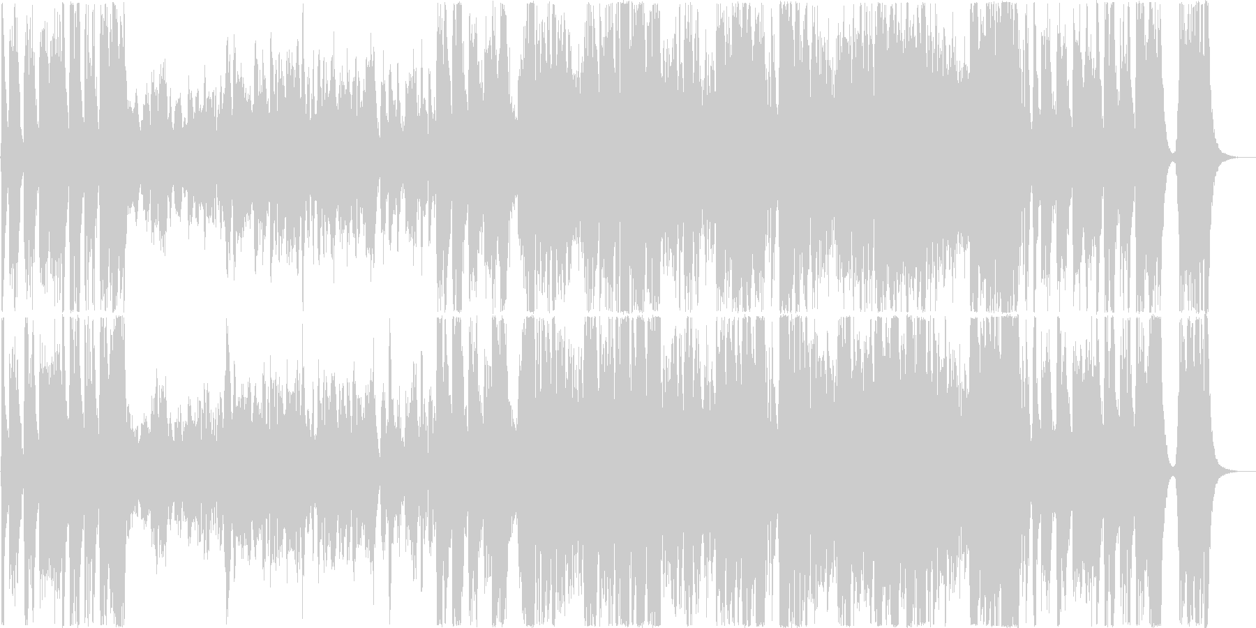 ダークファンタジー&造語多重コーラス系の未再生の波形