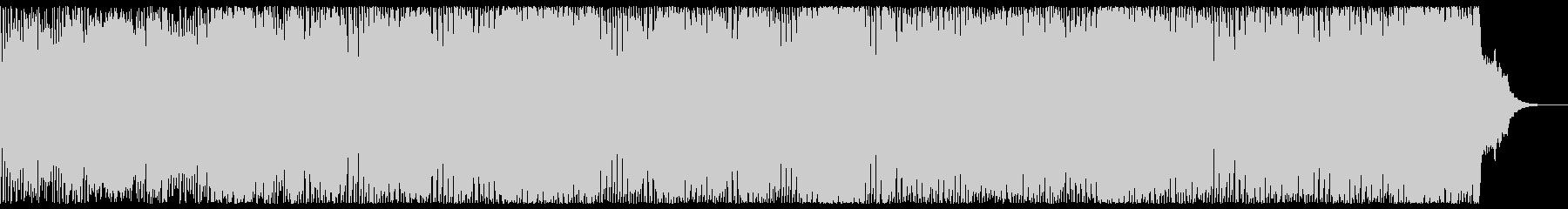 1980年スタイルの英国エレクトリ...の未再生の波形