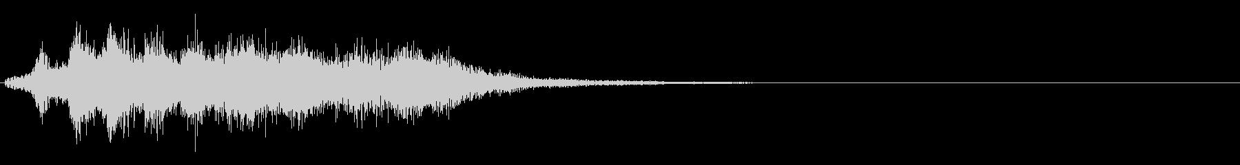 スーパー、テロップ等向けの電子音の未再生の波形