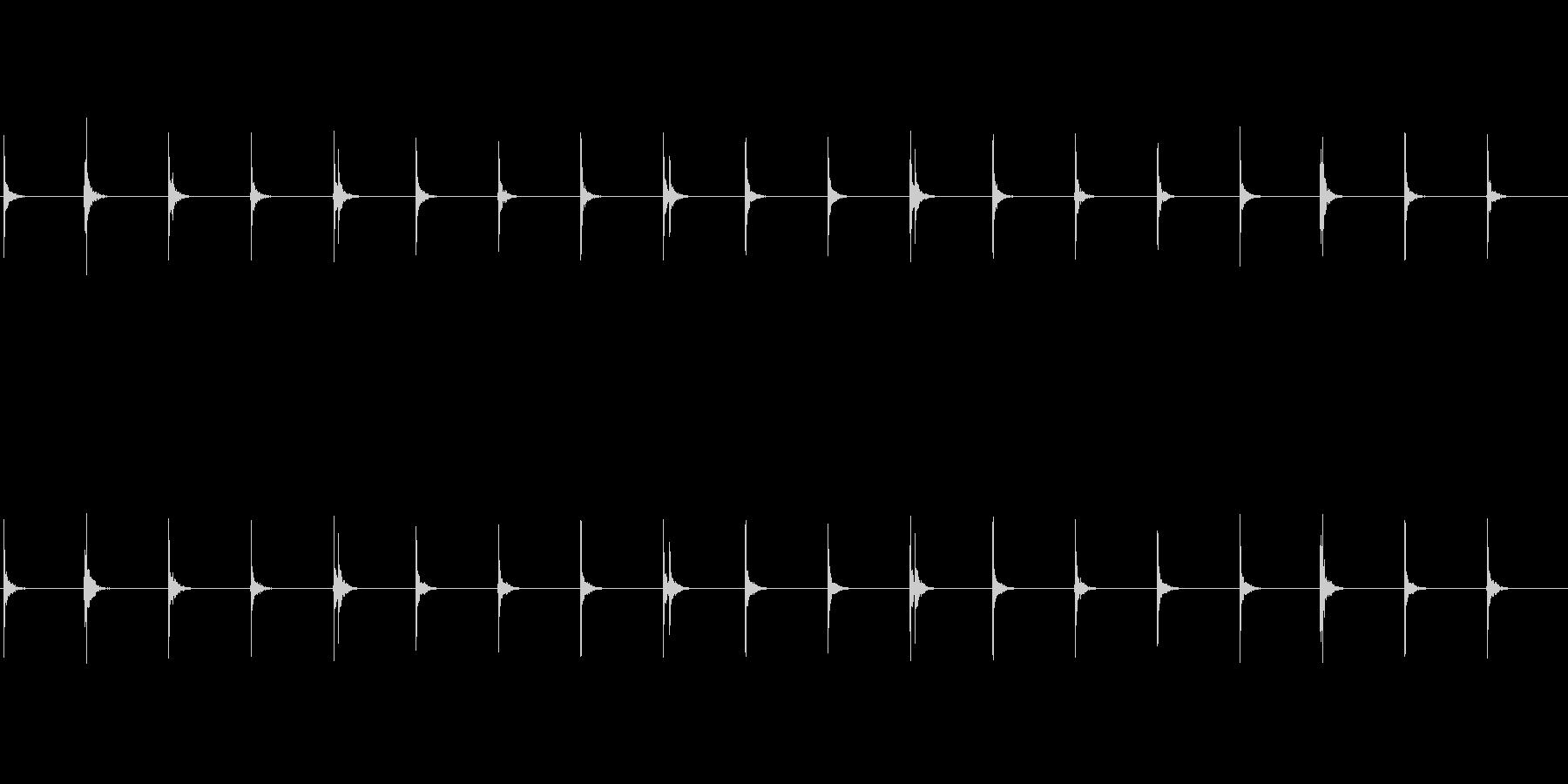 水滴-2の未再生の波形