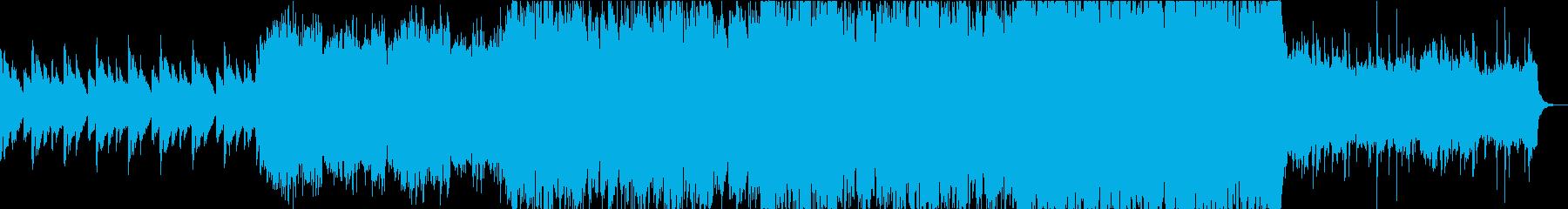 【劇版・サントラ】荘厳な激情ストリングスの再生済みの波形