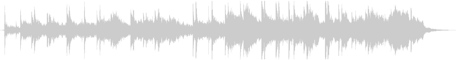 現代的 交響曲 モダン 実験的 ア...の未再生の波形