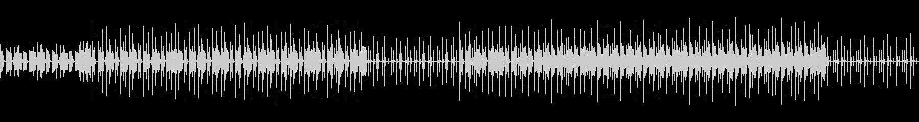 ベースがメインのシックな曲の未再生の波形