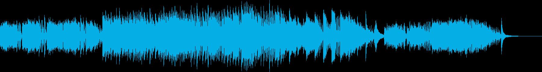 オカリナが哀愁を誘うエスニック曲の再生済みの波形