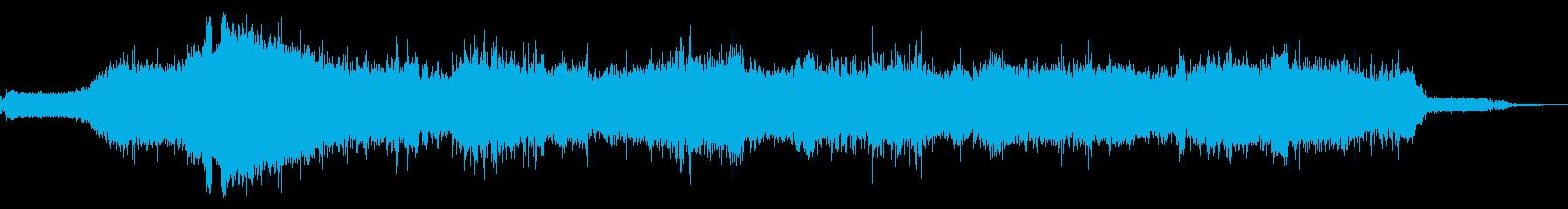 Int:開始、アイドル、中速でのド...の再生済みの波形
