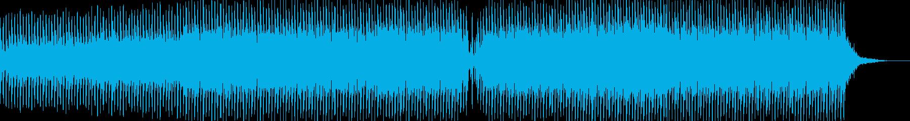 涼しげなテクノアンビエントバラードの再生済みの波形