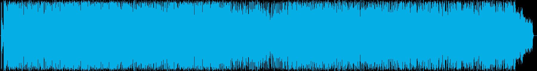 ロックエレクトロニック 楽しげ ハ...の再生済みの波形