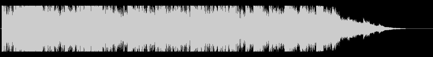 EDM, electronic short jingle's unreproduced waveform