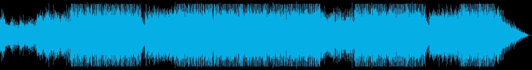 モダン和風デジタルロックの再生済みの波形