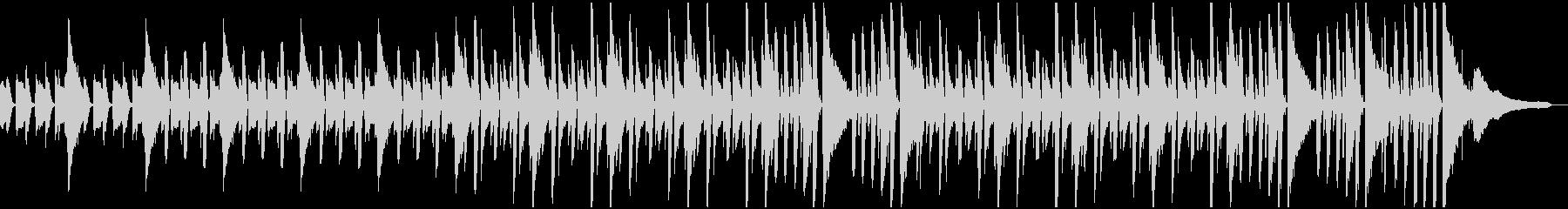 ほのぼのリズムのやさしいBGMの未再生の波形