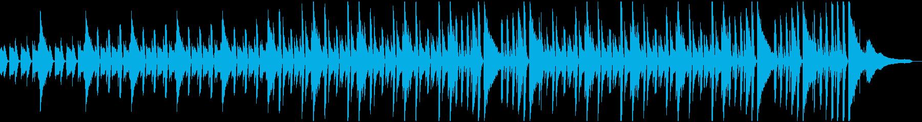 ほのぼのリズムのやさしいBGMの再生済みの波形