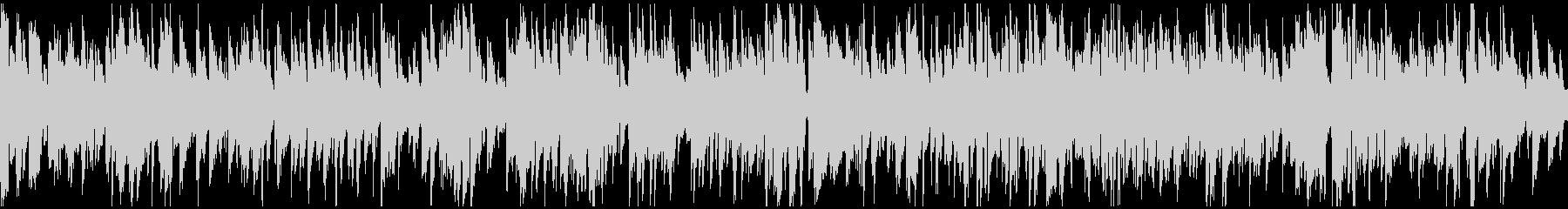生演奏サックスの渋いジャズ ※ループ版の未再生の波形