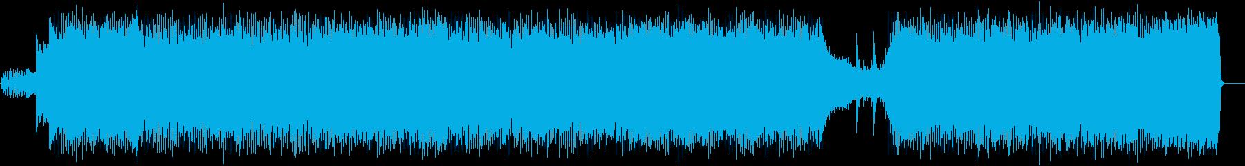 縦ノリの躍動感が熱いハードロックの再生済みの波形