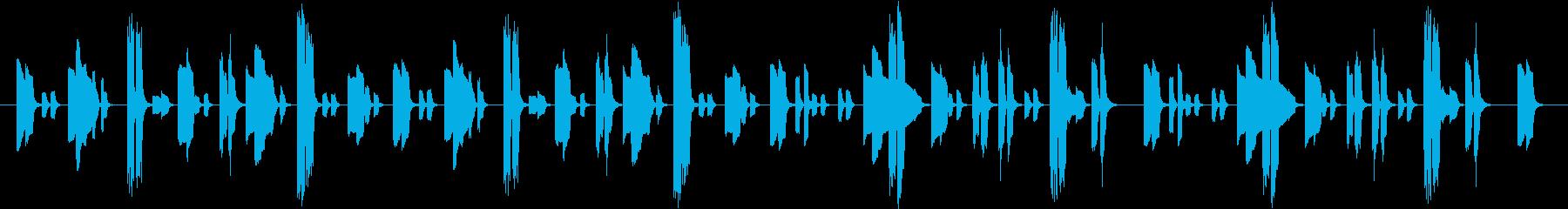 【クラシック】不思議な感じの曲です。の再生済みの波形
