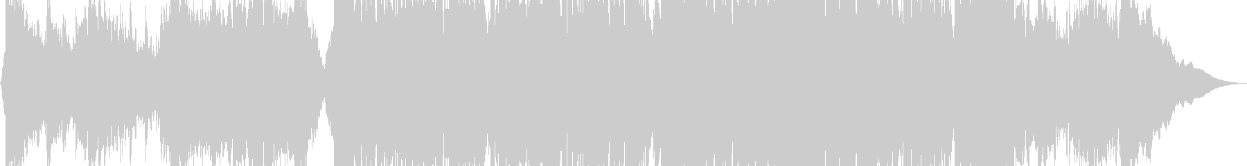 暗い、大気のカントリーロックの未再生の波形