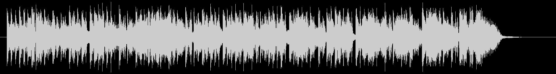 マイナーでクールなピアノジングルの未再生の波形